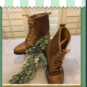 NWT Cole Hann Leather Boots